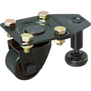 SAMSONG 低床式重荷重用キャスター 自在 50mm アジャスター付 TP9520-MC-NYL-LK ( TP9520MCNYLLK ) SAMSONG CASTER