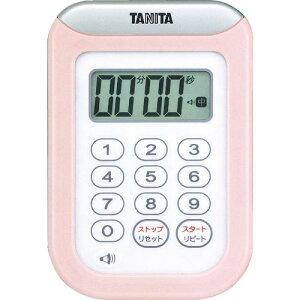 TANITA 丸洗いタイマー100分計 TD‐378‐PK TD-378-PK ( TD378PK ) (株)タニタ