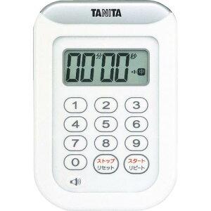 TANITA 丸洗いタイマー100分計 TD‐378‐WH TD-378-WH ( TD378WH ) (株)タニタ