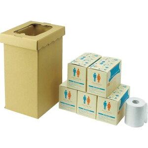 sanwa 非常用トイレ袋 くるくるトイレ100回分 400-785 ( 400785 ) (株)三和製作所