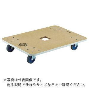 TRUSCO 木製平台車 ジュピター 900X600 φ100 400kg JUP-900-400 ( JUP900400 ) トラスコ中山(株)