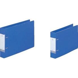 リヒト A4/E D型リングファイル(350枚) 青 G2236-8 ( G22368 ) (株)LIHIT LAB.