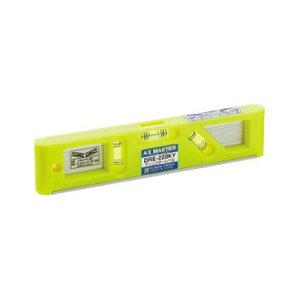 アックスブレーン(株) ディレクターレベル(蛍光イエロー) DRE-220KY W20.0XH46.0XL220mm