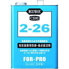 呉工業(株) KURE 電気装置用防錆・接点復活剤 2−26 3.785L NO1022 (1718011)