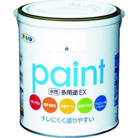 (株)アサヒペン アサヒペン 水性多用途EX 1.6L 白 459619 (4450353)