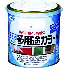 (株)アサヒペン アサヒペン 水性多用途カラー 0.7L 白 460714 (4450396)