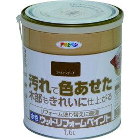 (株)アサヒペン アサヒペン 水性ウッドリフォームペイント 1.6L ゴールデンオーク 462671 (1309113)