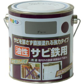 (株)アサヒペン アサヒペン 油性サビ鉄用0.7L ねずみ色 518521 (4450493)