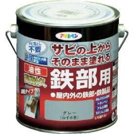 (株)アサヒペン アサヒペン 油性高耐久鉄部用0.7Lグレー 526540 (7878389)