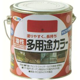 (株)アサヒペン アサヒペン 油性多用途カラー 0.7L 赤 536808 (4450591)