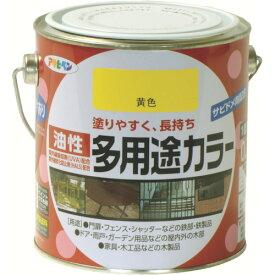 (株)アサヒペン アサヒペン 油性多用途カラー 0.7L 黄色 536822 (4450604)