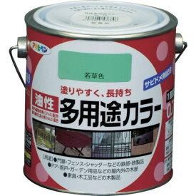 (株)アサヒペン アサヒペン 油性多用途カラー 0.7L 若草色 536846 (7878478)