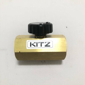 キッツ KITZ 圧力計用 ニードルバルブ BSGV 3/8(10A) 圧力計・連成計廻り 出荷目安:1〜2営業日以内
