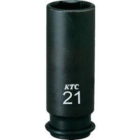 京都機械工具(株) KTC 9.5sq.インパクトレンチ用ソケット(ディープ薄肉)10mm BP3L10TP (3079279)
