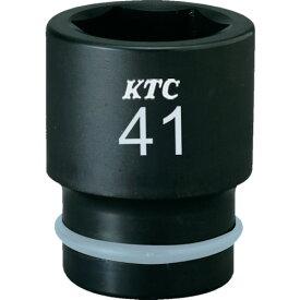 京都機械工具(株) KTC 19.0sq.インパクトレンチ用ソケット(標準)ピン・リング付38mm BP638P (3079856)