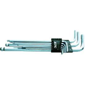 京都機械工具(株) KTC ボールポイントL形ロング六角棒レンチセット[9本組] HL259SP (3734561)