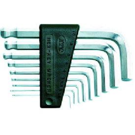 京都機械工具(株) KTC ハイグレードボールポイントL型スタンダード六角棒レンチセット[9本組] HLD2009 (3735010)