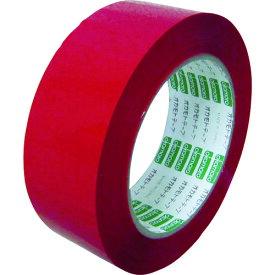オカモト(株)粘着製品部 オカモト OPPテープ NO333Cカラー 赤 38ミリ 333C38R 8081064