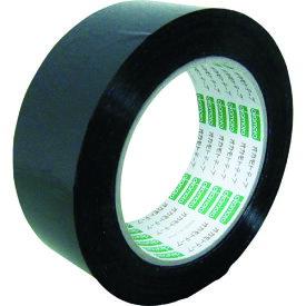 オカモト(株)粘着製品部 オカモト OPPテープ NO333Cカラー 黒 38ミリ 333C38X 8081066