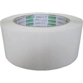 オカモト(株)粘着製品部 オカモト OPPテープ 48×100 白 333CW 8188495