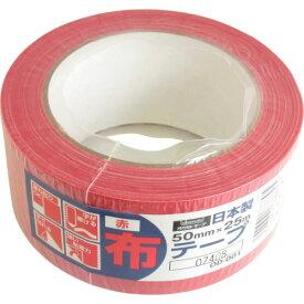 オカモト(株)粘着製品部 オカモト 布テープカラーOD−001 赤 OD001R 3562301