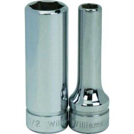 スナップオン・ツールズ(株) WILLIAMS 3/8ドライブ ディープソケット 6角 12mm JHWBMD612 (7578997)