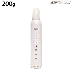 シュワルツコフ シルエット ソフトムース 200g / スタイリング剤 美容室 サロン専売品 美容院 SILHOUETTE ソフトホールド ヘアムース シュワルツコフ おすすめ品