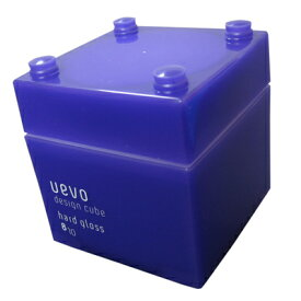デザインキューブ ハードグロスワックス 80g【デミ・DEMI】【ウェーボ・UEVO design cube】【正規品・サロン専売品】◆お中元・お祝い・ギフト・お誕生日プレゼントにも◆