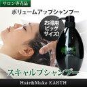 EARTHEART ボリュームアップ シャンプー ◆700mlお徳用サイズ◆