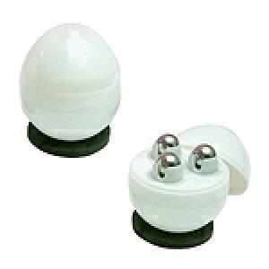 ユビタマゴ2 (マーブルホワイト)ユビタマゴ洗顔ソープ 10gつき