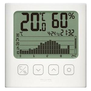 タニタ TT-581-WH グラフ付きデジタル温湿度計 TANITA