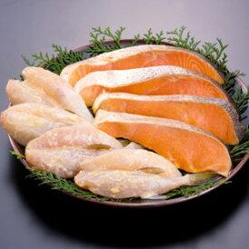 【漬魚セット サーモン辛子漬 4枚 ふぐの西京漬 2尾入×2袋】贈り物 ギフト プレゼント 土産《博多ふくいち》