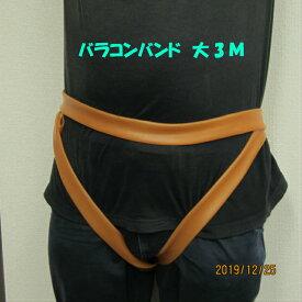 腰痛 ギックリ腰 天然ゴムバンド バラコンバンド チューブ 大(L)3m