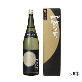 加越 加賀ノ月 月光 純米大吟醸 まとめ買い 1800ml 一升瓶 ×6本セット[ 日本酒 お酒 石川 加越 ]