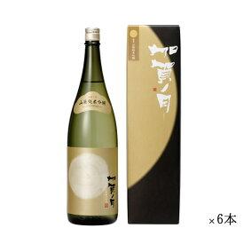 加越 加賀ノ月 琥珀月 山廃純米吟醸 まとめ買い 1800ml 一升瓶 ×6本セット[ 日本酒 お酒 石川 加越 ]