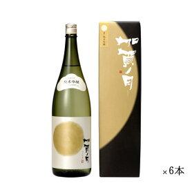 加越 加賀ノ月 満月 純米吟醸 まとめ買い 1800ml 一升瓶 ×6本セット[ 日本酒 お酒 石川 加越 ]