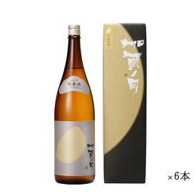 加越 加賀ノ月 半月 純米 まとめ買い 1800ml 一升瓶 ×6本セット[ 日本酒 お酒 石川 加越 ]