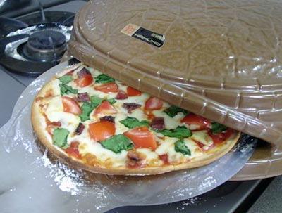 家庭用ピザ窯 日本製・耐熱陶器製[ピッツェリア]ばんこ焼