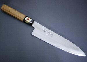 堺兼近作 牛刀包丁 和牛刀 シェフナイフ 7寸 195mm ステンレス V金10号 堺打刃物 日本製