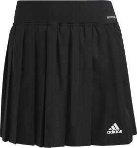 adidas(アディダス) テニス プラクティスパンツ CLUB プリーツスカート スコート 【ブラック×ホワイト】 22582 GL5468 レディース 女性用 黒 21Q3 {NP}