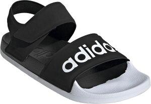 adidas(アディダス) トレーニング 靴・シューズ ADILETTE(アディレッタ) サンダル シャワーサンダル ベルクロ 【コアブラック/Fホワイト】 メンズ・レディース・ジュニア・キッズ F35416 20Q