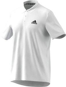 adidas(アディダス) マルチ プラクティスウェア 練習着 プラT M D2M PL(デザインド トゥ ムーブ) ポロシャツ 半袖<ショートスリーブ> ジム メンズ 男性用 【ホワイト】 42503 GM2154 白 21Q1 ●