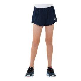 asics(アシックス) ジュニア ランニングパンツ キッズ 陸上 マラソン ジョギング スポーツウェア ショート インナー付 子供用 小学生 {NP}