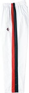 CONVERSE(コンバース) バスケットボール トレーニングウェア ジャージ ウォームアップパンツ ジュニア・キッズ 【ホワイト/ネイビー】 CB462506P 1129 スポーツウェア ズボン 裾ボタン 子供用