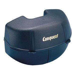 EVERNEW(エバニュー) Conquest(コンケスト) 体育用品 スキー ウィンタースポーツ ゴーグルグル・サングラス ケース ゴーグルケースDX 【ブラック】 CAS22D 黒 クロ {SK}