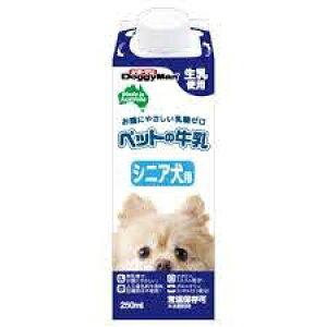 ドギーマンハヤシ(株)トーア事業部 ペットの牛乳シニア犬用 250ml 犬用品 フード他 ドックフード{SK}