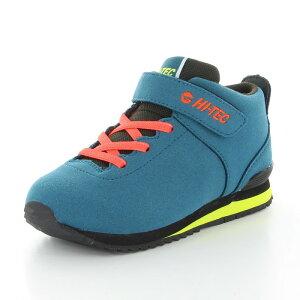 HI-TEC(ハイテック) ブーツ スニーカー HT KID33 AORAKI CLASSIC(アオラギ クラシック) KIDS WP 【ターコイズ】 53120515 ジュニア・キッズ 子供用 透湿 防水 抗菌 防臭 青 {SK}
