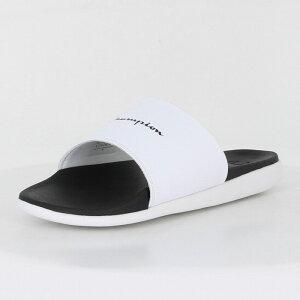 Champion(チャンピオン) サンダル CP LS030 SLEIGH NEO(スレイ ネオ) 【ホワイト×ブラック】 メンズ・レディース・ユニセックス・ジュニア・キッズ 55180291 靴 シューズ シャワーサンダル 水泳
