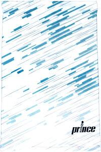 prince(プリンス) テニス アクセサリー ICE DRY フェイスカバー 【ホワイト/ブルー】 メンズ・レディース 男性用・女性用 PO665 218 {NP}