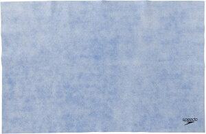 speedo(スピード) 水泳 タオル マイクロセームタオル L 【ブルー】 メンズ・レディース・ユニセックス・ジュニア・キッズ SE62002 BL {NP}
